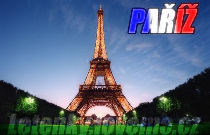 Levné letenky do Paříže, letenka paříž