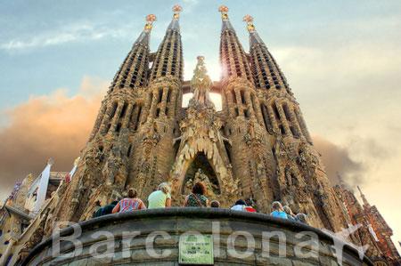 Levné letenky Barcelona Španělsko