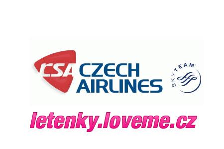 Letenky ČSA, levne lety Praha